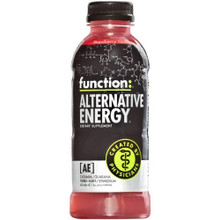 Alternative Energy, Strawberry Guava, 12 of 16.9OZ, Function Drinks