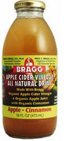 Apple & Cinnamon, 12 of 16 OZ, Bragg