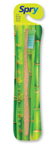 Spry Bamboo toothbrush Adult 1 PC By Spry