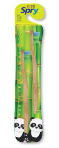 Spry Bamboo Toothbrush Child 2 PC By Spry