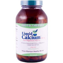 Liquid Calcium Rx 180 Softgels From Phyto Therapy