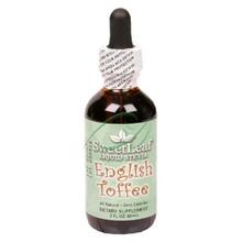English Toffee 2 fl oz From Wisdom Natural Sweet Leaf
