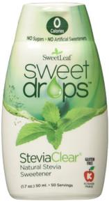 Sweet Drops Clear 50ml 1.7 OZ By Sweetleaf Stevia
