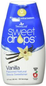 Sweet Drops Vanilla 50ml 1.7 OZ By Sweetleaf Stevia