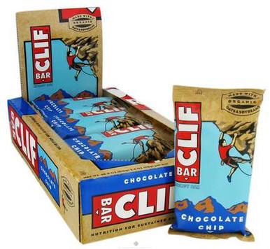 Clif Bar  Energy Bar Chocolate Chip  2.4 oz.