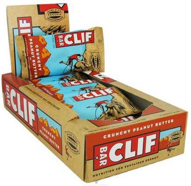 Clif Bar  Energy Bar Crunchy Peanut Butter  2.4 oz.