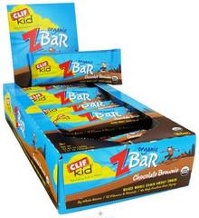 Clif Bar  Kid Z-Bar Organic Chocolate Brownie  1.27 oz.  18 Count