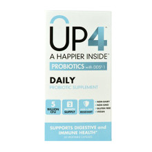UP4 Daily Probiotic 5 Billion CFU 60 CAPVEGI By Up4 Probiotics