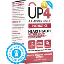 UP4 Heart Heath 60 CAP VEGI By Up4 Probiotics