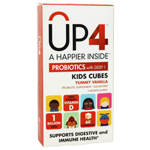 UP4 Kids Cubes 1 Billion CFU & 800IU with Vitamin D3 Chewable 60 CT By Up4 Probiotics