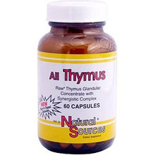 All Thymus 60 Capsules From Natural Sources