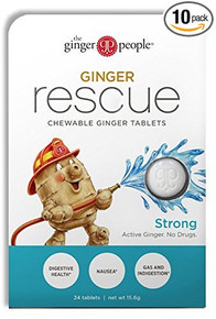 Ginger Rescue Stong 10 PC By Go