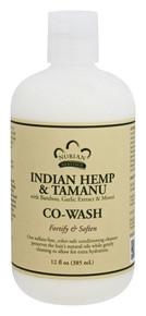 Co-Wash Indian Hemp & Tamanu Sulfate Free 12 OZ By Nubian Heritage/Sundial Creations