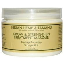Nubian Heritage Grow & Strengthen Treatment Masque Indian Hemp & Tamanu 12 oz (340 g)