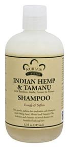Shampoo Indian Hemp & Tamanu Sulfate Free 12 OZ By Nubian Heritage/Sundial Creations