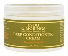 Deep Conditioning Cream EVOO & Moringa 12 OZ By Nubian Heritage/Sundial Creations