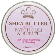 NHO Patchouli Sea Infused Butter 4 OZ By Nubian Heritage/Sundial Creations