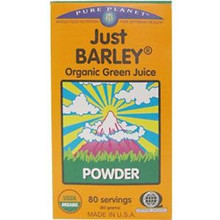 Just Barley Organic Green Juice Powder 80 Servings From Organic By Nature Pure Planet
