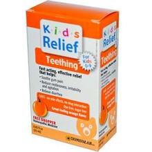 Kids Relief Teething Orange Flavor 0.85 fl oz (25 ml) From Homeolab USA