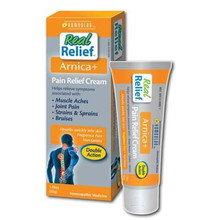 Homeolab USA  Real Relief Arnica+ Pain Relief Cream  1.76 oz.