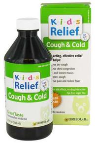 Homeolab USA  Kids Relief Cough & Cold  8.5 oz.