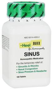 BHI Sinus Formula 100 tabs Heel/BHI