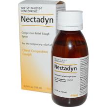 Heel BHI Nectadyn Congestion Relief Cough Syrup Honey-Natural Lemon Flavor 4.23 oz (125 ml)