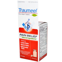 Heel BHI Traumeel Pain Relief Tablets and Ointment Combo Pack 100 Tablets & 1.76 oz (50 g)