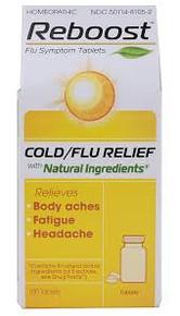 Heel BHI Reboost Cold/Flu Relief 100 Tablets