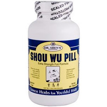Shou Wu Formula 200 Tablets 700 mg From Dr. Shen's