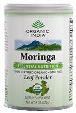Organic Moringa Powder 8 OZ By Organic India