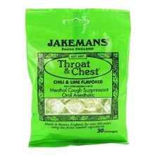 Throat Lozenges Peppermint Menthol Bag 30 CT From JAKEMANS