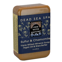 Sulfur & Chamomile Dead Sea Spa Bar Soap 7 OZ By One With Nature