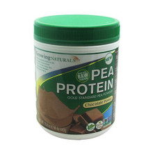 Pea Protein Powder Chocolate 1 LB By Growing Naturals