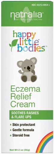 Happy Little Bodies Eczema Relief Cream 2 OZ By Natralia