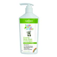 Happy Little Bodies Eczema Body Wash & Shampoo 6 OZ By Natralia