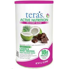 Active Nutrition Fair Trade Dark Chocolate 12.7 OZ By Tera'S Whey