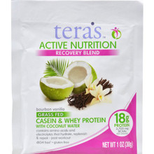 Active Nutrition Fair Trade Dark Chocolate 1 OZ By Tera'S Whey