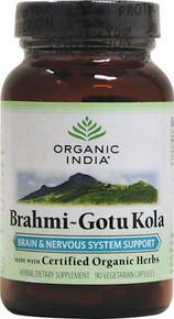 Organic India Brahmi-Gotu Kola 90 Cap