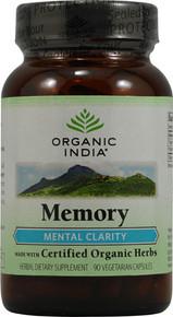 Organic India Memory 90 Cap