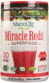 Miracle Reds 10 OZ By Macro Life Naturals