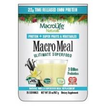 MacroMeal Omi Vanilla 15 Serving 18.5 OZ By Macro Life Naturals