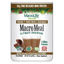 MacroMeal Omi Chocolate 15 Serving 20 OZ By Macro Life Naturals
