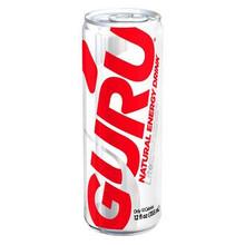 Lite Energy Drink, 12 of 12 OZ, Guru