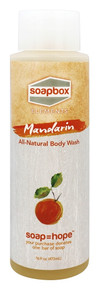 All Natural Body Wash Mandarin 16 OZ By Soapbox