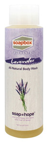 All Natural Body Wash Lavender 16 OZ By Soapbox