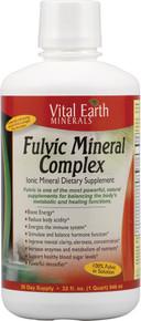 Fulvic Mineral Complex Ionic Mineral Dietary Supplement 32 fl oz (946 ml) From Vital Earth Minerals