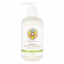 Shampoo & Wash Newborn 8 OZ From BABY MANTRA