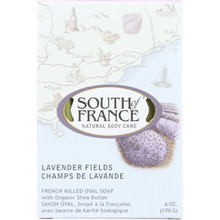 Bar Soap Oval Lavender Fields 6 OZ By South Of France