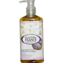 Hand Wash Liquid Lavender Fields 8 OZ By South Of France